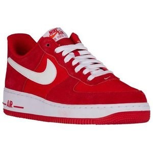 NIKE ナイキ メンズ エアフォース 1 ロー スニーカー Nike Men's Air Force 1 Low Game Red White|jetrag