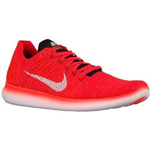 NIKE ナイキ ランニングシューズ メンズ フリー RN フライニット シューズ オレンジ Nike Men's Free RN Flyknit Bright Crimson Black University Red White|jetrag