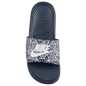 NIKE ナイキ メンズ ベナッシ サンダル 柄 デザイン スライド Nike Men's Benassi JDI Slide Obsidian Pure Platinum|jetrag