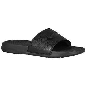 NIKE ナイキ サンダル メンズ ベナッシ JDI スライド Nike Men's Benassi JDI Slide Black Black Black 黒|jetrag