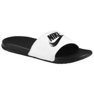 NIKE ナイキ ベナッシ メンズ サンダル JDI 白 黒 Nike Men's Benassi JDI Slide White Black|jetrag