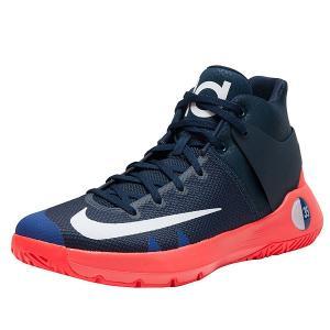 NIKE ナイキ メンズ バッシュ KD トレー 5 4 バスケットシューズ ケビンデュラント Nike Men's KD Trey 5 IV Obsidian White Bright Crimson Deep Royal Blue|jetrag