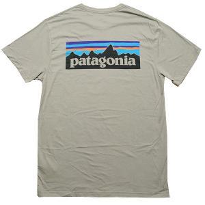 Patagonia Tシャツ パタゴニア メンズ ロゴプリント 半袖Tシャツ Patagonia M...