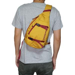 パタゴニア アトム patagonia atom スリング ショルダーバッグ ワンショルダー Yurt Yellow イエロー商品|jetrag