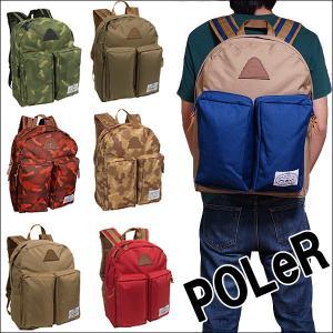POLeR リュック ポーラー スタッフ ザ デイパック POLeR Stuff The Day Pack(ノートCP バッグ アウトドア リュックサック デイパック)|jetrag