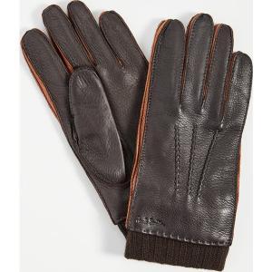 (取寄)ポールスミス ディアスキン グローブ Paul Smith Deerskin Gloves Brown|jetrag