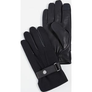 (取寄)ポロ ラルフローレン ウール メルトン ハイブリット グローブ Polo Ralph Lauren Wool Melton Hybrid Gloves Black|jetrag