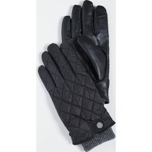 ポロ ラルフローレン キルテッド フィールド グローブ Polo Ralph Lauren Quilted Field Gloves Black|jetrag