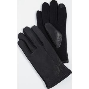 (取寄)ポロ ラルフローレン ディアスキン ハイブリット タッチ グローブ Polo Ralph Lauren Deerskin Hybrid Touch Gloves Black|jetrag