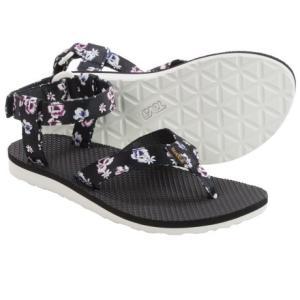テバ レディース オリジナル フローラル スポーツ サンダル Teva Women Original Floral Sport Sandals White Floral|jetrag