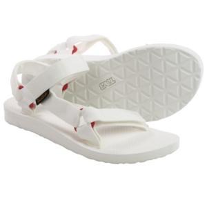 (取寄)テバ レディース オリジナル ユニバーサル スポーツ サンダル Teva Women Original Universal Sport Sandals Bright White|jetrag