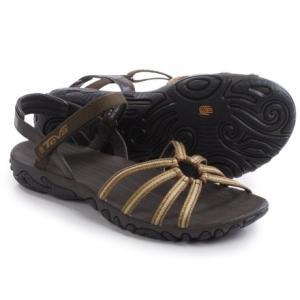 (取寄)テバ レディース カヤンタ ストラッピー サンダル Teva Women Kayenta Strappy Sandals Bailladere Brown|jetrag