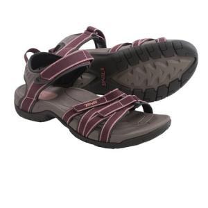(取寄)テバ レディース ティラ スポーツ サンダル Teva Women Tirra Sport Sandals Decadent Chocolate|jetrag