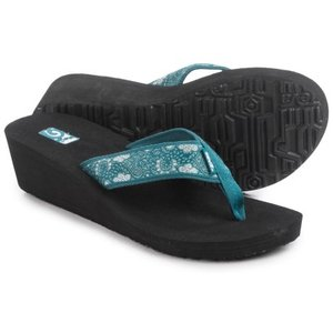 (取寄)テバ レディース マンダリン ウェッジ 2 サンダル Teva Women Mandalyn Wedge 2 Sandals Harmony Deep Teal|jetrag