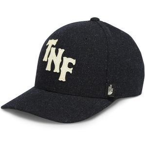ノースフェイス メンズ 帽子 ブラック チーム TNF ベー...