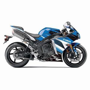 FACTORY-EFFEX(ファクトリーエフエックス) EV-R Yamahaスポーツバイクグラフィックラップキット Yamaha YZF R1 09-14/Blue|jetwave