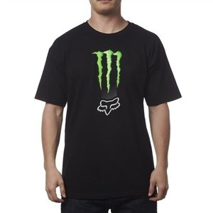POWER SPORTS APPAREL(パワースポーツアパレル) フォックス モンスターエナジー ゼブラTシャツ T-Shirt|jetwave