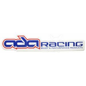 ADA RACING(エーディーエーレーシング) エーディーエー レーシングデカール−6インチ 約15cm/2枚|jetwave