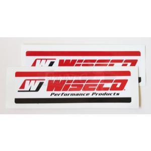 WISECO(ワイセコ) ワイセコ デカール 2枚セット|jetwave