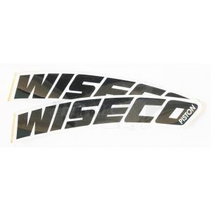 WISECO(ワイセコ) ワイセコ デカール フロントフェンダー用 4cmX24cm/2枚セット ビニール|jetwave