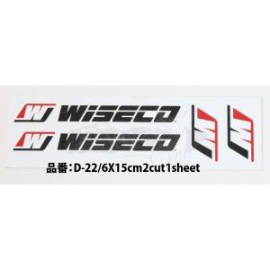 WISECO(ワイセコ) ワイセコ デカール 1シート|jetwave