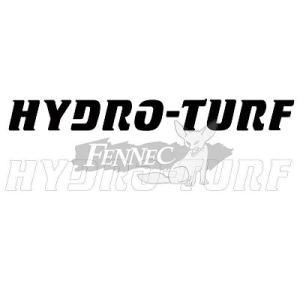 HYDRO-TURF(ハイドロターフ) ダイカットロゴステッカー 4X38cm  (2マイ)|jetwave