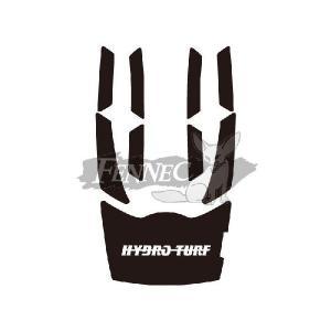 HYDRO-TURF(ハイドロターフ) デッキマット 9ピース YAM VX110/BLACK|jetwave