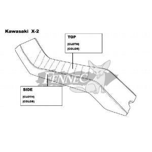 JET-TRIM(ジェットトリム) カワサキ/オーダー シートカバー KAW 650X-2/ORDER|jetwave