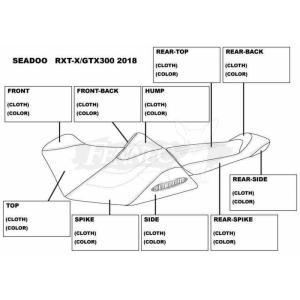 JET-TRIM(ジェットトリム) シードゥー/オーダーシートカバー S/D RXT-X300(18-)|jetwave