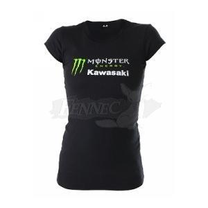 POWER SPORTS APPAREL(パワースポーツアパレル) カワサキ モンスターエナジー 女性 Tシャツ T-Shirt Sサイズ|jetwave
