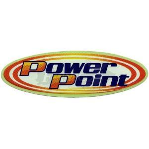 50%off  POWERPOINT(パワーポイント) パワーポイント ステッカー 3cmX11cm/2枚セット/オレンジ|jetwave