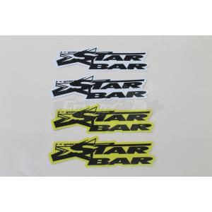 STARBAR(スターバー) スターバー デカール 3cmX12cm/2枚セット|jetwave