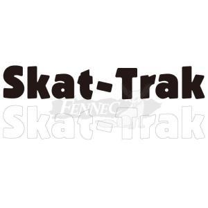 SKAT-TRAK(スキャットトラック) ロゴステッカー 4x24cm 2枚セット/BLACK|jetwave