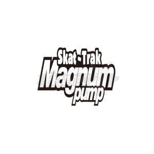 SKAT-TRAK(スキャットトラック) マグナムポンプ デカール 8X21cm 2枚セット/ホワイト jetwave
