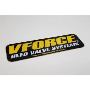 V-FORCE(ヴイフォース) ブイ‐フォース ステッカー 1枚13cmx4cm|jetwave
