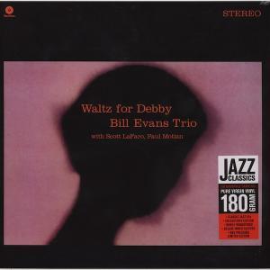 Bill Evans Trio Waltz For Debby ビルエヴァンストリオ ワルツフォーデビィ 新品輸入LP レコード JAZZ名盤定番