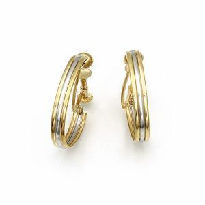 地金イヤリング K18/プラチナ|jewelelegance