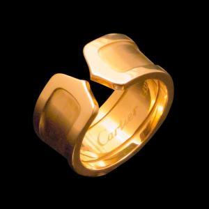 カルティエ C2リング YG750 K18 イエローゴールド Lサイズ 55|jewelelegance