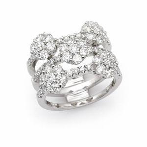 ダイヤ リング / 2.42カラット K18 ホワイトゴールド |jewelelegance