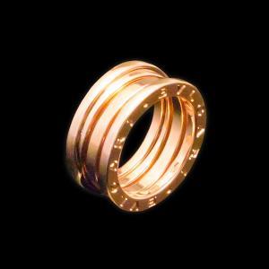 ブルガリ B.zero1 PG750 K18 ピンクゴールド 3バンドリング|jewelelegance