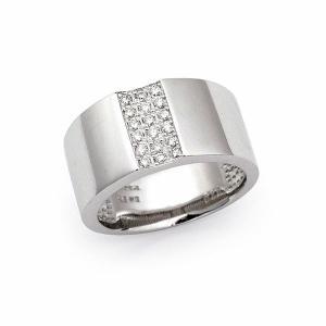ダイヤ リング / 0.20カラット K18 ホワイトゴールド|jewelelegance