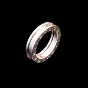 ブルガリ B.zero1 WG750 K18ホワイトゴールド 1バンドリング|jewelelegance