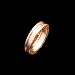 ブルガリ B.zero1 PG750 K18 ピンクゴールド 1バンドリング|jewelelegance