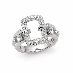 ダイヤ リング / 0.460カラット K18 ホワイトゴールド|jewelelegance