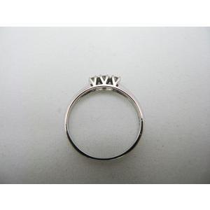 ホワイトゴールドダイヤモンドリング(K18) jewelelegance 04