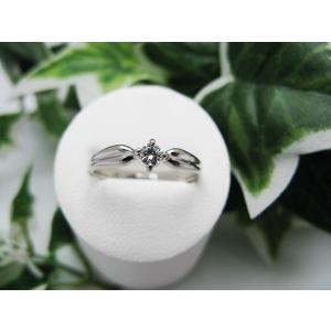 プラチナダイヤモンドリング(PT900)|jewelelegance