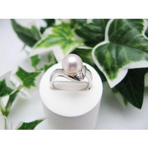 プラチナパールリング(PT900)|jewelelegance