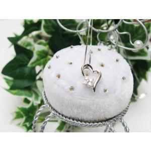 ホワイトゴールドダイヤモンドペンダント(K10)|jewelelegance