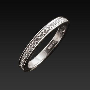 Tiffany&Co. ティファニー ハーフエタニティリング|jewelelegance