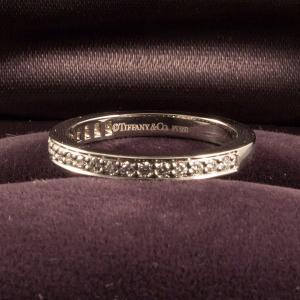 Tiffany&Co. ティファニー ハーフエタニティリング|jewelelegance|02
